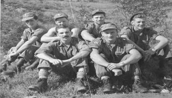 Red Deer Archives, E2763; Canadian soldiers in Korea, between 1950-1953