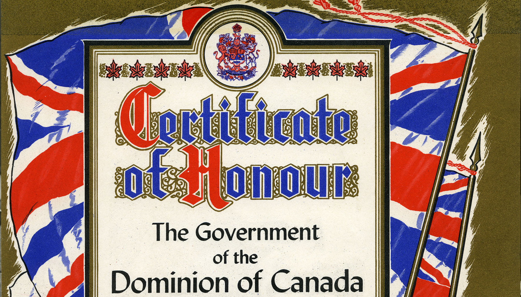 Certificate of Honour, 1942