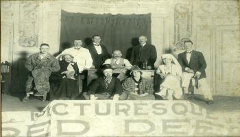 Red Deer Archives, P406; Red Deer Dramatic Club, ca. 1924