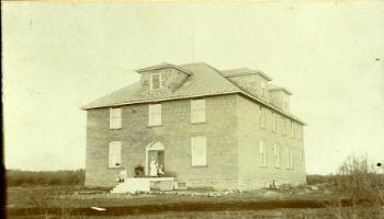 Red Deer Archives, P451; Red Deer Memorial Hospital, 1904