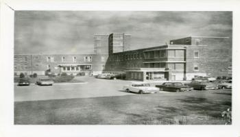 Red Deer Archives, P5305; Red Deer General Hospital, ca. 1965