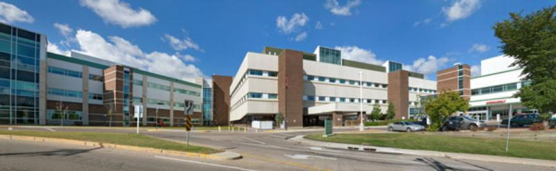 A photo of the Red Deer Regional Hospital Centre