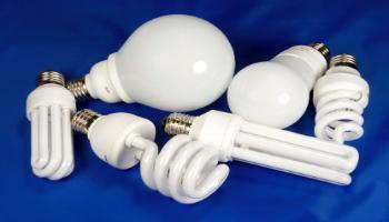 Various styles of fluorescent bulbs (JPG)